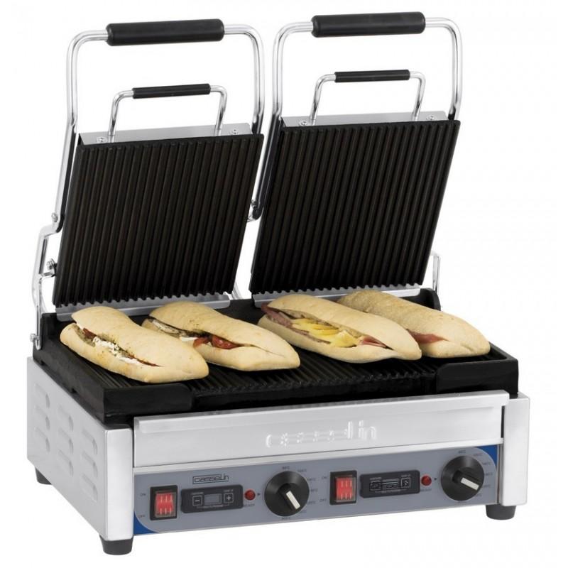 Grill panini double